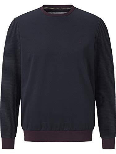 Charles Colby Herren Sweatshirt Duke Idris dunkelblau 3XL (XXXL) - 64/66