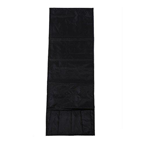 Haude Multifunctional - Telecomando a 4 tasche per titolare organizzatore poltrona divano Storagecolor: nero