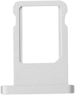 Inzelo Sim Card Slot Tray Holder Replacement for Apple iPad Air 2 (Silver)