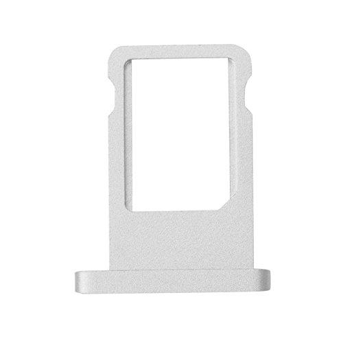 SIM Card Tray Holder Slot Adapter for iPad 6 iPad Air 2 Silver