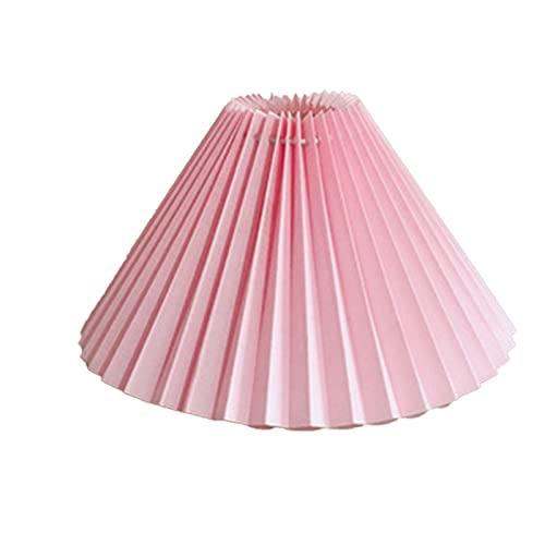 Syina Plissee Lampenschirm E27 Licht Abdeckung Ersatz Japanischen Stil Stoff Tischlampe Creme Mushroom Pleat Großer Lampenschirm Deckendekor Stoffe Pendelleuchte Abdeckung Lampenschirm