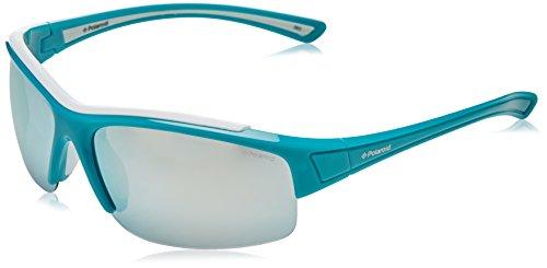 Polaroid Unisex-Erwachsene PLD-7003-S-QRL-JB Sonnenbrille, Blau (Azul), 67