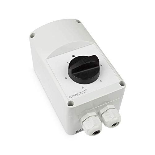 neverest Trafo 230V 1.0 A Professioneller Transformator Ventilatoren Ventilatorgeschwindigkeitsregler