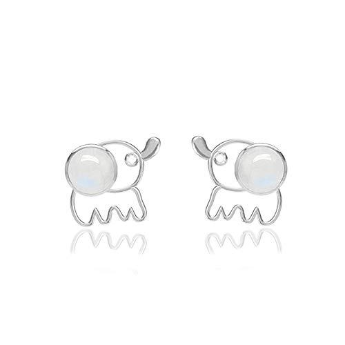 (71% OFF) Moonstone CZ Stud Earrings $4.05 – Coupon Code