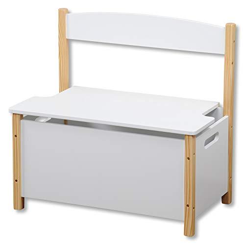 Kesper Kinder-Sitzbank, Holz, 60 x 34,5 x 56 cm