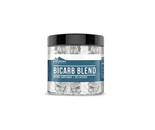 Bicarb Blend (200 Capsules) Gluten-Free, All Natural, No Additives or Fillers (825 mg/Servings)