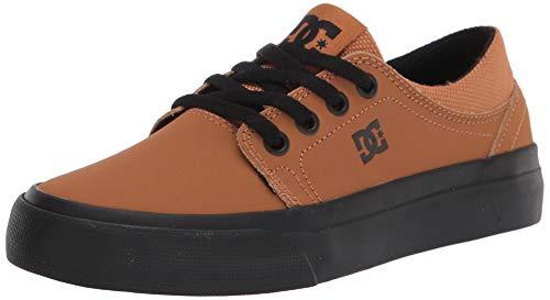 DC Unisex-Kinder Trase Skate Schuh, Weizen/Schwarz, 36 EU