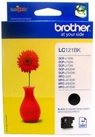 Brother LC121 Tintenpatrone, schwarz