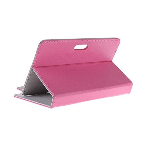 BRALEXX Universaltasche für Tablet PC passend für i.onik TP Serie 1-7 Zoll, Rosa 7 Zoll