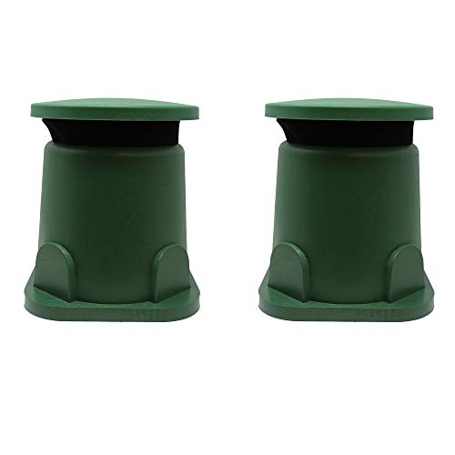 TIC GS5-5 Compact Outdoor Weather-Resistant Omnidirectional In-Ground Speakers (Pair)