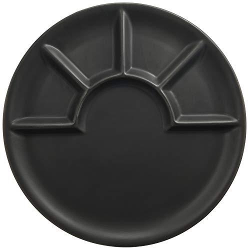 Fondueteller Arcade schwarz matt 26cm Ø, 67838 Kela Küche