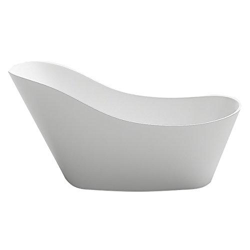 Design Badewanne freistehend Chur II in weiss Bad Badausstattung vom Fachmann Wanne BAD Klassisch