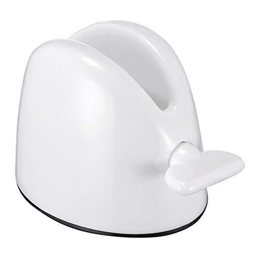 ENticerowts Dispensador de Pasta de Dientes/dispensador Manual para Tubo de baño, Soporte para Rodillo de Limpieza Facial, dispensador de Pasta de Dientes, Accesorios de baño, Color Rojo