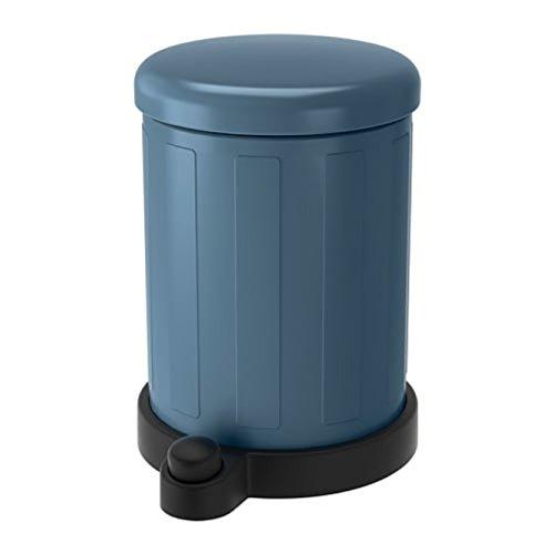 Ikea 603.494.98 Toftan - Cubo de Basura, Color Azul