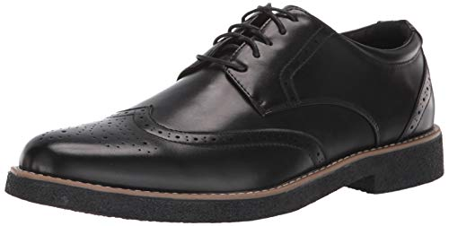 Deer Stags mens Oxford, Black, 10 US