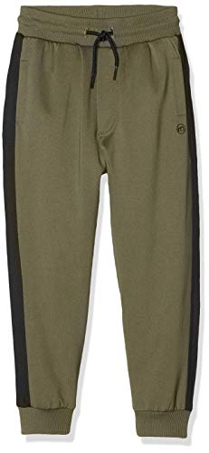 MINYMO Sporthose mit hoher Bewegungsfreiheit Pantalones Deportivos, Verde (Beetle 978), 12 años para Niños