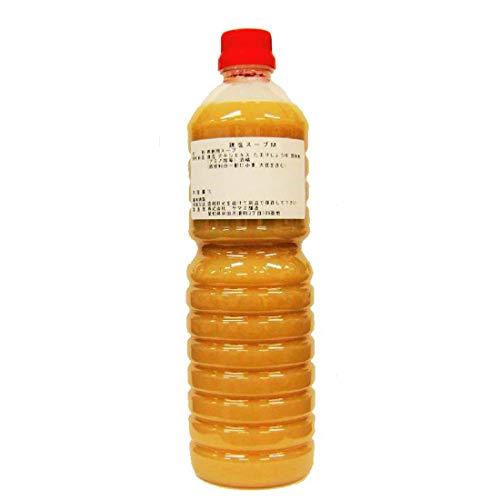 半田の旨味家 鶏味塩 鶏塩スープM 濃縮 鶏ガラスープ 1L 業務用サイズ