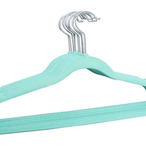 YuKeShop Kleiderbügel, 10 Stück/Lot 30 cm, beflockte Kleiderbügel für Kinder, rutschfeste Kinder-Kleiderbügel, Schrankaufbewahrung