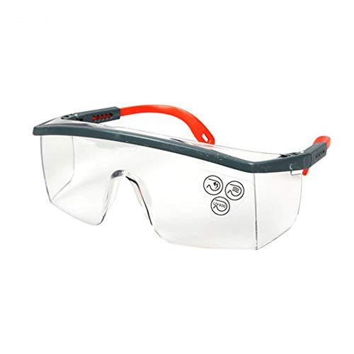 FH Brille Anti-Schock-Schutzbrille, Staubdicht/Sandproof / Arbeit Versicherung Arbeit Anti-Fog Und UV-Scratch