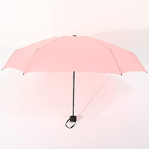 NFHFHHA Parapluie Pliant Pluie Dames Hommes Parapluie De Poche Fille Protection UV Imperméable Parapluie Portable Sac À Dos