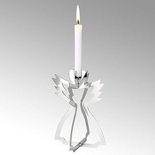 Lambert Serafin Kerzenhalter Engel Stehend Groß Vern H14Cm