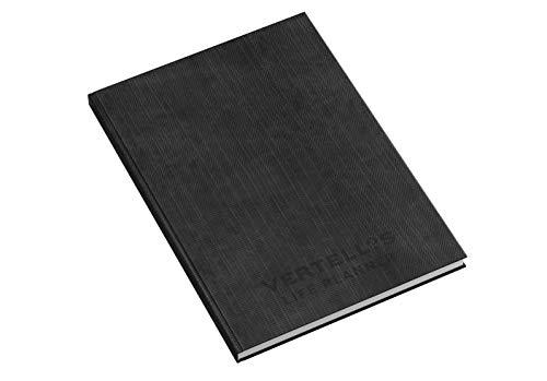 Vertellis Life Planner in het Engels/motivatieboek, zakelijk boek en planner voor effectiviteit op 136 pagina's