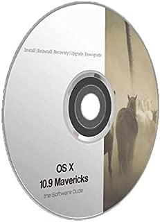 Mac OS X Mavericks 10.9 Boot DVD Install Reinstall Recovery Upgrade Downgrade