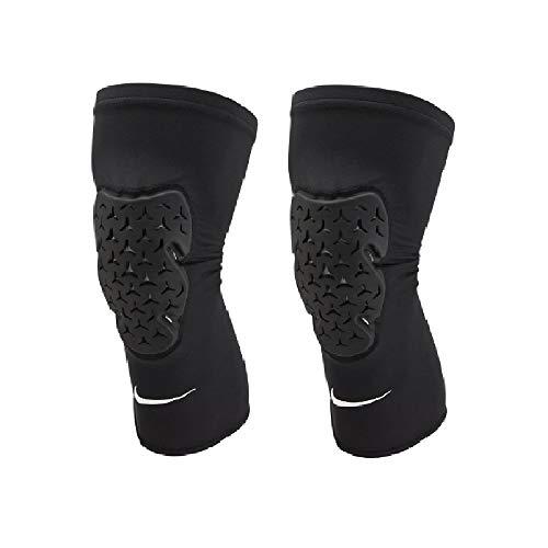 Nike Pro Strong Leg Sleeves - Par de rodilleras altas (L/XL)