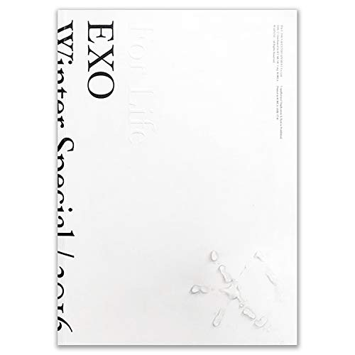 EXO 2016 Winter Special Album - [ FOR LIFE ] 2CD + Booklet + Sticker + Postcard + Photocard + FREE GIFT / K-pop Sealed