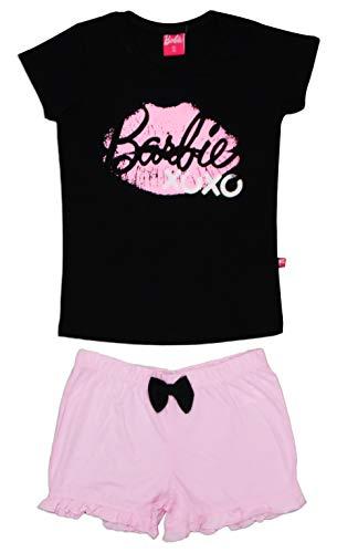 Barbie Conjunto de pijama de algodón para niñas