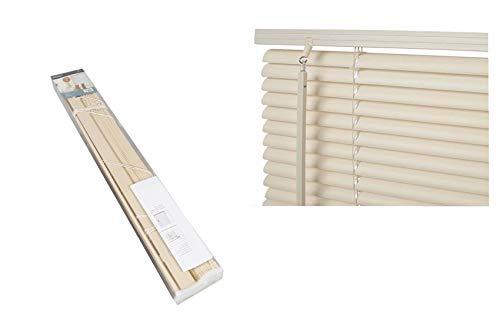 thesecrethome.es PERSIANA Veneciana Aluminio Color Beige PVC 60X140 | ESTORE para Ventana