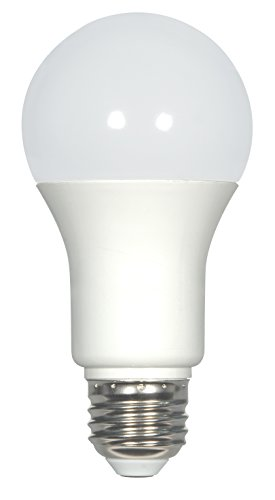 Satco S9812 Series 11.5 watt A19 LED Medium Base 220' Beam Spread 120 Volts, Cool White 4000K