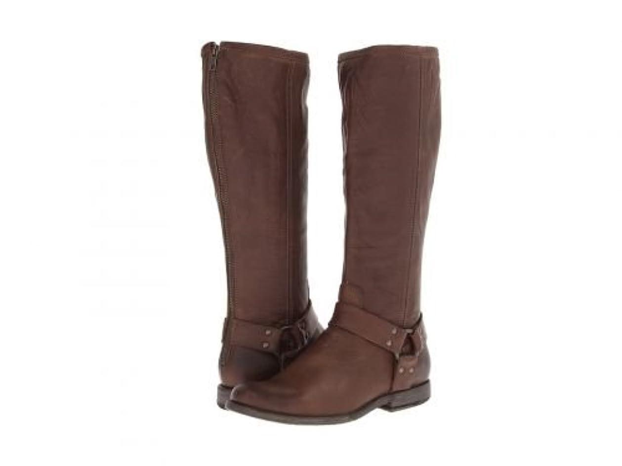 スパイラルアボートピニオンFrye(フライ) レディース 女性用 シューズ 靴 ブーツ ライダーブーツ Phillip Harness Tall - Cognac Soft Vintage Leather [並行輸入品]