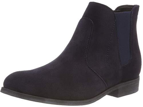 s.Oliver Damen 5-5-25340-21 Chelsea Boots, Blau (Night Blue 854), 41 EU