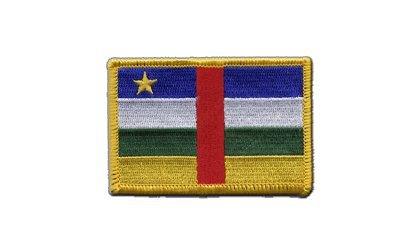 Aufnäher Patch Flagge Zentralafrikanische Republik - 8 x 6 cm