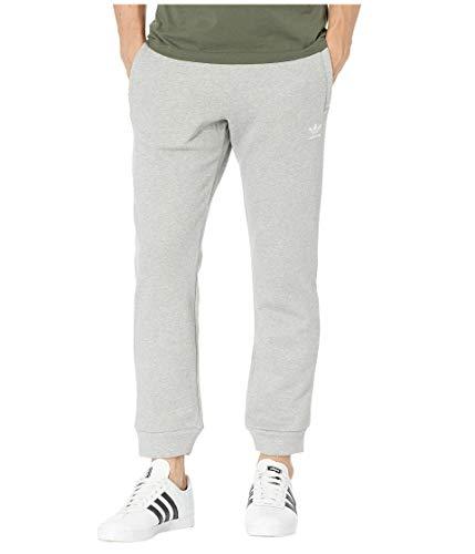 adidas Originals Men's Trefoil Pants, medium grey heather,