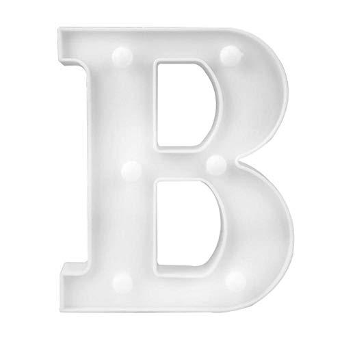 Forma M INS luz de letra inglesa caliente L/ámpara de modelado de s/ímbolo LED luz digital de boda propuesta de cumplea/ños luz blanca