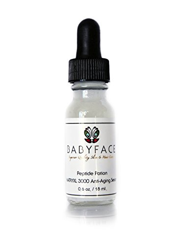 Babyface PEPTIDE POTION Concentrated Matrixyl 3000 Serum ~ Firming Serum & Wrinkle Filler, Instant Tightening Effect - 0.6 oz