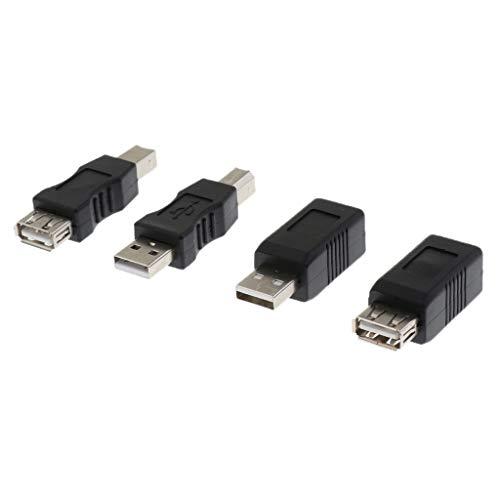 Gazechimp Printerkabelaansluiting, USB 2.0 High Speed, adapterscanner voor HP, Canon, printer, Samsung ECC