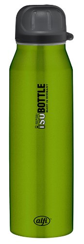 Alfi 5337697050 Isolier-Trinkflasche edelstahl (0,5 Liter) rein grün