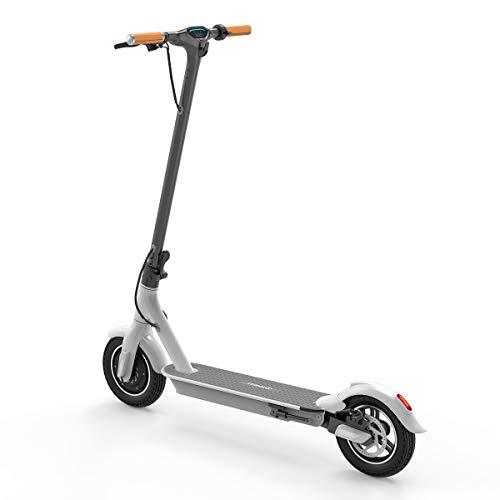 TOMOLOO Electric Scooter, Commuting Electric Scooter Lightweight Folding Electric Scooters for Adults, with Led Lights and UL2272 Folding Electric Scooter Certified (White)