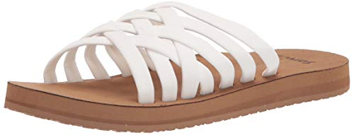 Sanuk Rio Slide White/Tan 7 B (M)