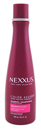 Nexxus Color Assure Shampoo for Color Treated Hair ProteinFusion Sulfate Free, 0% Silicone 13.5 oz