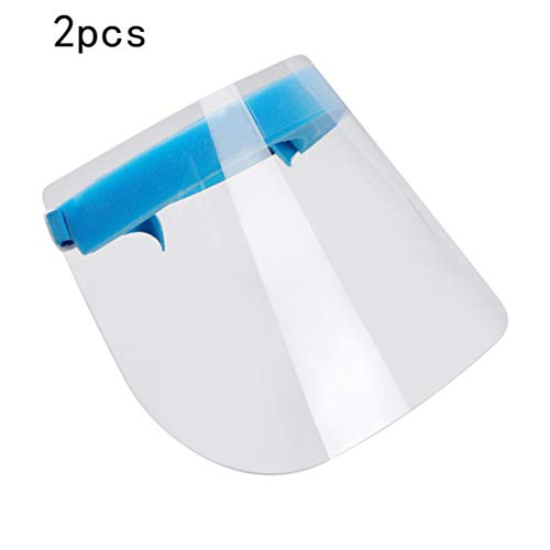Lens Random Color PRETYZOOM 2pcs Kitchen Cooking Anti Oil Splash Mask Face Shield Protector Anti-Saliva Protective Full Face Eye Mouth Clear Cover Mask