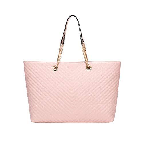 SYART luxe merk handtas 2020 mode nieuw hoogwaardig PU-leer dames handtas grote schoudertassen boodschappentas slot ketting schouder