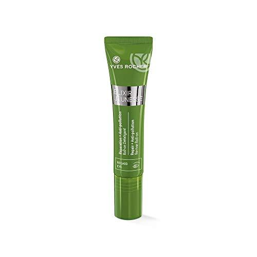 Yves Rocher ELIXIR JEUNESSE Roll-on Anti-Müdigkeit, Augengel Roll-On Detox & Repair, Schutz vor Umwelteinflüssen, 1 x Tube 15 ml