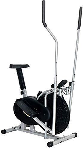 DSHUJC Bicicleta elíptica Entrenador de máquina elíptica Equipo de Ejercicio Compacto Life Fitness para Oficina en el hogar Máquina de Entrenamiento Cardiovascular par