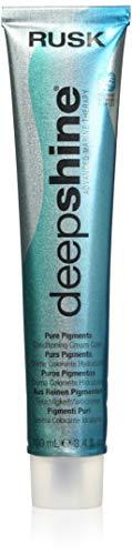RUSK Deepshine Pure Pigments Conditioning Cream Color, 8.000NC, Light Blonde, 3.4 oz