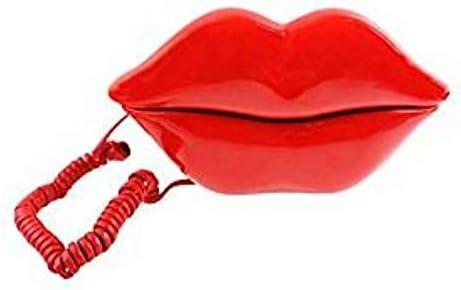 Sexy Red Lip Shape Phone Telephone