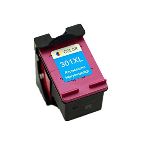 Cartucho de tinta 301XL compatible para impresora de inyección de tinta HP DeskJet 3000 3050 3055 (1 unids Color)